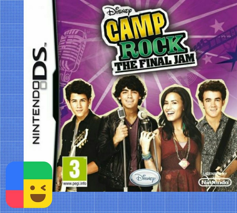 Juego DS «Camp Rock: The Final Jam»