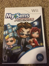 My sims agent wii game  DeKalb, 60115