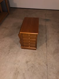 Multi-Use End table Cabinet