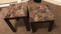 Two side tables good condition Wernersville