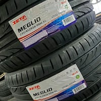 BRAND NEW ZETA MEGLIO TIRES SIZE: 235/45R18 PRICE: $85 EACH   Perth Amboy, 08861