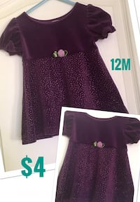 12m Pretty Dress in Excellent Condition