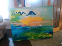 Large painting. Art. Must be viewed in person to appreciate Hamilton, L8V 1W4