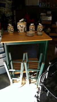 brown and green wooden table Hazel Green, 35750