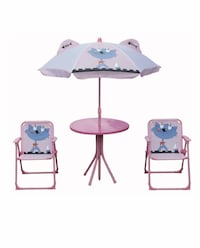 Two white and blue swing chairs New York, 10463