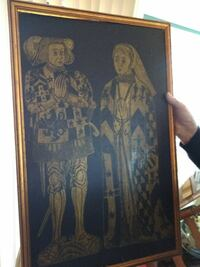 Old China ancestor painting Pineville, 71360