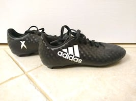 Youth size 3 Adidas soccer cleats