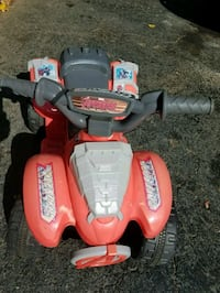 BATTERY OPERATED  QUAD - PUSH BUTTON AND GO - COME Springfield