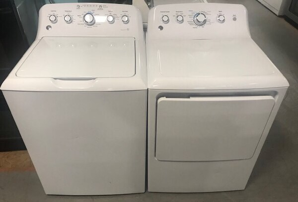 GE washer and dryer set 90 days warranty c53f82fe-5611-489a-b57b-f6e6d4ea50ba