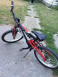 black and red full-suspension bike Louisville, 40211