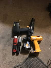 Yellow and black power drills no chargers Winnipeg, R2W 3K3