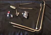 gold lowrider bike parts 120 obo for all 1552 mi
