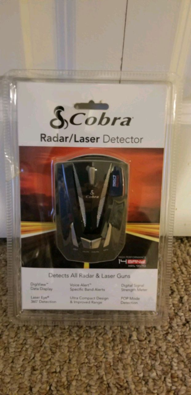 Photo Cobra car radar