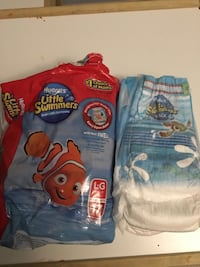Huggies Little Swimmers Diapers Size Large (15p) Burnaby, V3J