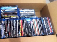 Lot of 56 blu rays - starting at $5.00