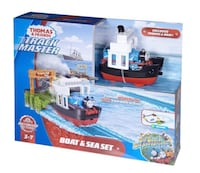 Thomas & Friends Track Master Boat & Sea Set