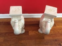 2– Ceramic Elephants......CHECK OUT MY PAGE FOR MORE ITEMS Baltimore, 21206