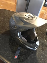 Downhill bike helmet