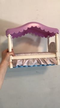 Little tikes toy doll bed