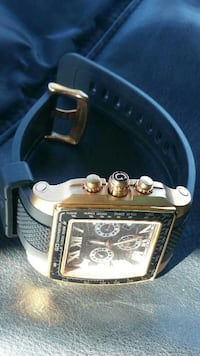 GUESS GC 35503GA Square ROSE GOLD CHRONO SWISS Wat Manassas, 20109