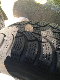 Winter hawk sxi 195/60 R 15 four tires and rims Waterford, 06385