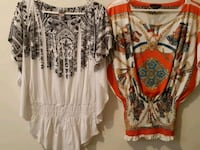 women's white and red floral blouse Winnipeg, R2W 2Z1