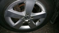 Honda civic rims only tires are worn Toronto