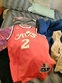 red and blue Nike jersey shirt Cuyahoga Falls, 44221