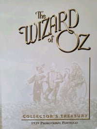 """The Wizard of Oz """"Promotional Book""""  Las Vegas, 89109"""