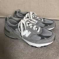 pair of gray Nike running shoes Hagerstown, 21740