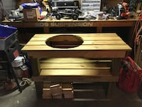 Large Green Egg Table