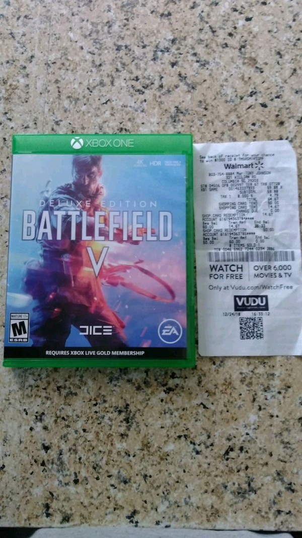 Battlefield V, Brand new played once
