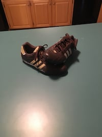 pair of black-and-brown Adidas sneakers Knightdale, 27545