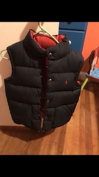 black and red bubble vest Springfield, 22150