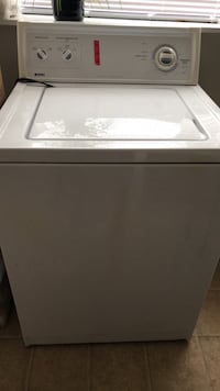 white top-load clothes washer 44 km