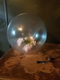 round clear glass table decor Simcoe County, L0M