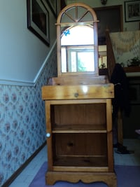 Pine Cabinet with Mirror East Gwillimbury