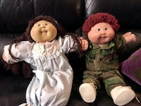 Vintage Cabbage patch dolls from the 80s excellent condition