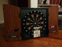 black and brown dartboard with cabinet Baltimore, 21217