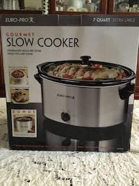 NEW Euro-pro gourmet slow cooker