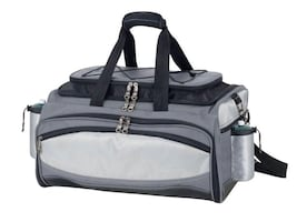 Portable grill & cooler combo in tote bag  Vulcan grill