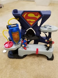 Fisher Price Imaginext DC Superman Fortress of Sol Springfield