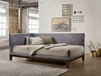 Pax Gray Velvet Twin Daybed | 5330 1201 mi