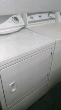 white front-load clothes washer Gurley, 35748
