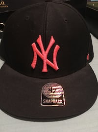 Black and pink new york snapback Bel Air, 21014