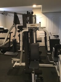 Commercial 4-Station, dual stack, highly versatile home gym Ashburn