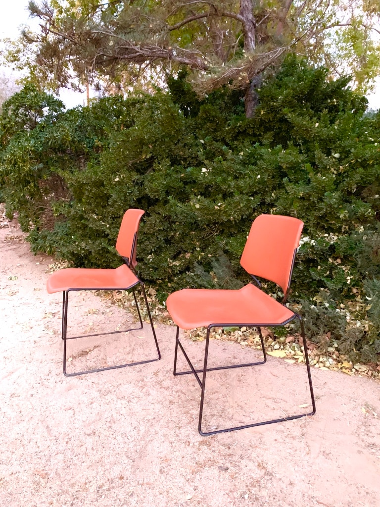 Krueger Matrix Stackable chairs -86 Available Antique Chairs