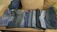 10 pairs of jeans size 7 Palm Harbor