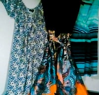 women's blue and black floral dress Calgary, T2V 0B7