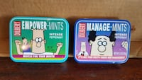 Collectible Dilbert empty mint tins (2) Winchester, 22601